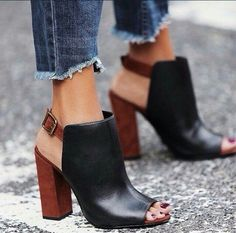Cute black shoes
