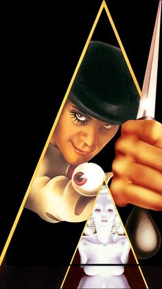 Iconic Movie Posters, Iconic Movies, Good Movies, Stanley Kubrick, Marduk Band, A Clockwork Orange Quotes, Twilight Saga New Moon, Real Horror, Orange Wallpaper