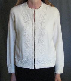 Vintage Beaded Sweater by MJGTreasures on Etsy