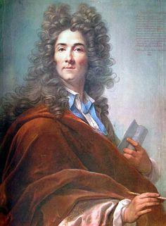 Tuscan Big Wig! Gran Principe Ferdinando de Medici, 1701 by pastellist Joseph VIVIEN (1657-1734)