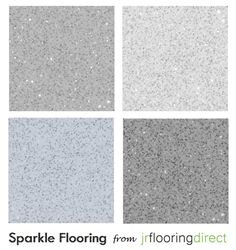 glitter floor tiles - would be perfect in navy - in a closet