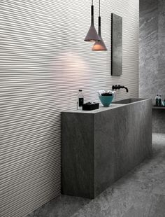 Indoor white-paste 3D Wall Cladding FLOWS - @atlasconcorde