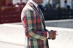 What a cool blazer.