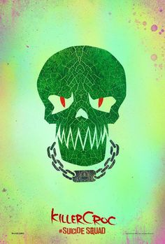 Esquadrão Suicida: novos cartazes com caveiras estilizadas dos vilões da DC - Minha Série