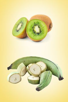 "If You Like Bananas...  Similar nutrition: Kiwi  Kiwis are another good source of potassium. But that's not all: They're among the top five most nutrient-dense fruits. Garnish fish or chicken with a kiwi-papaya-mango salsa.  Similar taste: Plantain  ""Plantains are like a cross between a banana and a yam,"" says Rachel Saunders, founder of the artisanal jam company Blue Chair Fruit. Try using the fruit, baked or sautéed, as a side to spicy dishes."