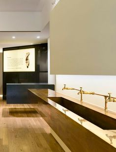 Aesop's Hollywood Road store features pale oak, copper and blackened steel