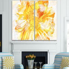 This design is printed on high quality cotton canvas and is gallery-wrapped around solid wood subframes, carefully packaged, and ready to hang. This printing technology allows for a crisp, deep canvas print, which is fade resistant and never pixelated.