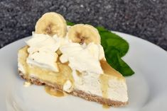 Banoffee cheesecake Banoffee Cheesecake, Banana Cheesecake, Bagan, Grandma Cookies, Sweet Pastries, Swedish Recipes, Dessert For Dinner, Sweet And Salty, Different Recipes