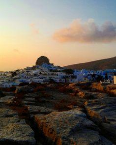 Amorgos Greece Summer 2016 Sunset