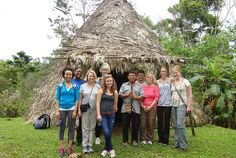 A group of WSU Nursing students and faculty, other staff and family members spent spring break working in a rural health clinic and day care center in Costa Rica by Wayne State University, via Flickr
