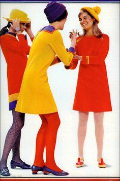 Dazzle Fashion, 1967---. That`s bright !!