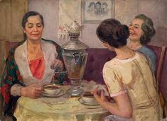 Чаепитие в живописи - Поиск в Google