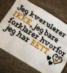 Stitching, Cross Stitch, Embroidery, Humor, Funny, Quotes, Threading, Poster, Creative