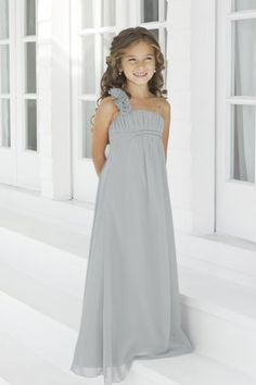 011ef3916 Charmeuse Pleated,Straps Style 44 Junior Bridesmaid Dress by Alexia Designs