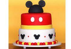 Resultado de imagem para bolos de aniversario Mickey
