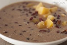 Fazuľová kyslá polievka (fotorecept) - recept | Varecha.sk Cheeseburger Chowder, Soup, Soups