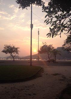 6:00 am, Botafogo, Rio de Janeiro, Brazil