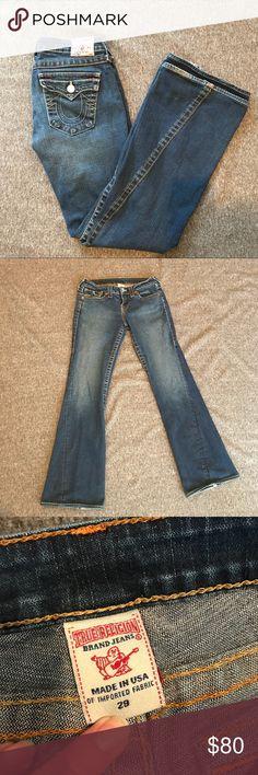 """True Religion Joey Jeans 7 of Mankind Joey Jeans. Size 29, Waist - 14 1/2"""", Inseam - 31"""" True Religion Jeans"""