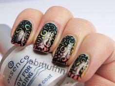 Permanent Marker Nail Art Tutorial (aka I'm Nail MacGyver!) ~ Lab Muffin