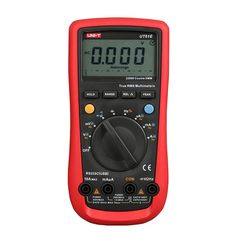 Cheap multimeter oscilloscope, Buy Quality tester peugeot directly from China tester auto Suppliers: UNI-T Modern Digital Multimeters AC/DC Voltage Current Resistance Diode Tester with Large LCD Screen Usb, Ac Dc Current, Ac Dc Voltage, Volt Ampere, Shops, Bar Graphs, Maui, Hold On, Cool Things To Buy
