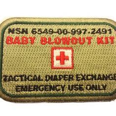 Baby Blowout Kit Patch (Version 2.0)