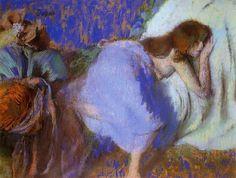 Edgar Degas - Rest - 1893