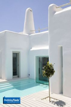 Gorgeous summer villa in Paros, Greece.