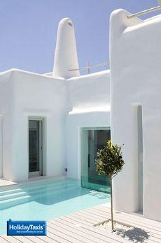 Gorgeous summer villa in Paros, Greece.