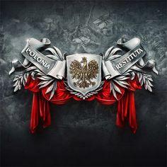 Polish eagle logo - Google Search King Tattoos, Body Art Tattoos, Sleeve Tattoos, Tatoos, Polish Eagle Tattoo, Polish Symbols, Eagle Wallpaper, Polish People, Cake