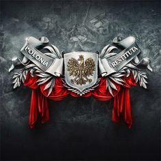 Polish eagle logo - Google Search King Tattoos, Body Art Tattoos, Sleeve Tattoos, Tatoos, Polish Eagle Tattoo, Polish Symbols, Polish People, Patriotic Tattoos, Patriotic Pictures