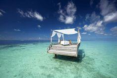 10 paradiesische Inselhotels, für die Ihr aus dem Flugzeug springen würdet