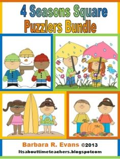 Excellent problem solving puzzles that will really challenge your students.  Perfect for fast finishers.  Buy the bundle and save!  $   #problemsolving #criticalthinking #gifted #enrichment #fastfinishers #BarbEvans #itsabouttimeteachers