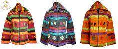 Jachete multicolore din bumbac captusite cu polar de la Haine Hippie si discount aplicat pe site.:)  ✿ http://www.hainehippie.ro/55-noutati ✿ ✿ Transport GRATIS la 2 produse din: haine, şaluri, genţi ✿ ✿ Livrare în ţară în 24h ✿