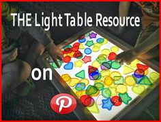 Epic Childhood: INTRODUCING: The Ultimate Light Table Guide on Pinterest