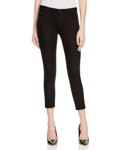 DL1961 Florence Instasculpt Cropped Jeans in Hail | Bloomingdale's