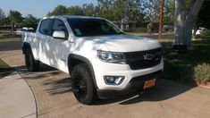 Brand new Chevy Colorado Z71 4x4 Duramax Diesel with 265/70-R17 BFG AT KO2's and Fuel Vector wheels.