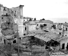 Ortona - Destruction of Ortona.