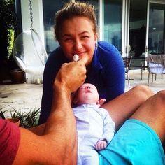 Hayden Panettiere Is Glowing as Fianc� Wladimir Klitschko Shares Adorable New Photo of Baby Kaya