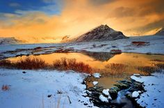 Sunset in Iceland Photo by Greg Pesik — National Geographic Your Shot