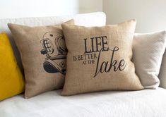 life is better lake house decor at the lake lake by pillowmeRustic