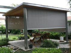 Cortina enrollable para exterior VERANDA by RESSTENDE