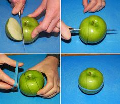 Rubber Band Trick: How to Keep a Cut Apple Fresh in Your Lunchbox