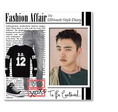 """D.O. / EXO"" by smile2528 ❤ liked on Polyvore featuring Scotch & Soda, Converse, men's fashion and menswear"