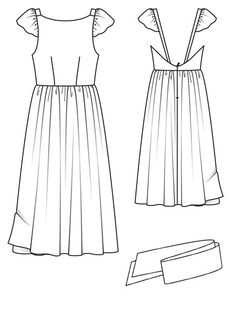 Love this dress pattern! So romantic and elegant. Burda Style - Open Back Dress 03/2013 #111