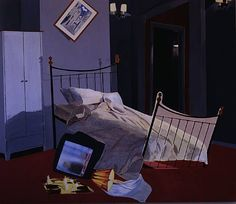 Dexter Dalwood, Room 100, Chelsea Hotel