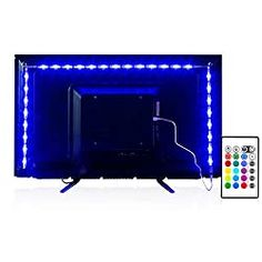 Ultimate Gift Guide for Teenage Boys - Budgeting for Bliss Tv Lighting, Strip Lighting, Led Light Strips, Led Strip, Tape Installation, Rgb Red, Cute Night Lights, Tv Backlight, Mood Lamps