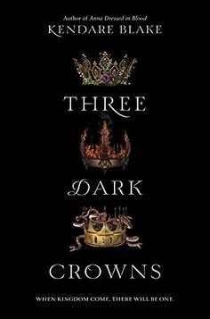 Three Dark Crowns: Kendare Blake  I just started working again and don't get paid till the following week. BUT if I did have the $11 in my account to spare I would have bought this!