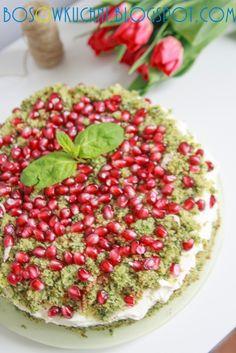 Spinach cake with mascarpone/ Ciasto ze szpinakiem i mascarpone Boso w Kuchni