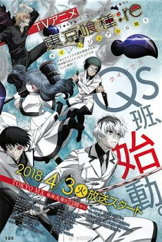 Tokyo ghoul:re Anime