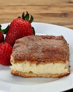 Here's A Recipe For Cinnamon Sugar Cheesecake Bars